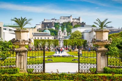 Schlossgarten Schloss Mirabell