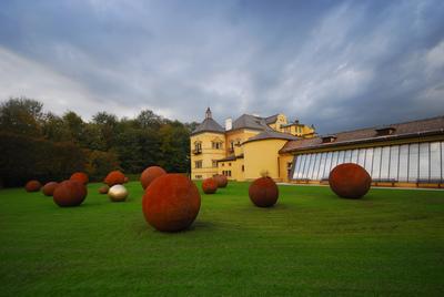 Schlossgarten Schloss Hellbrunn