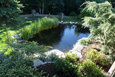 Gartenanlage in Treffling 1