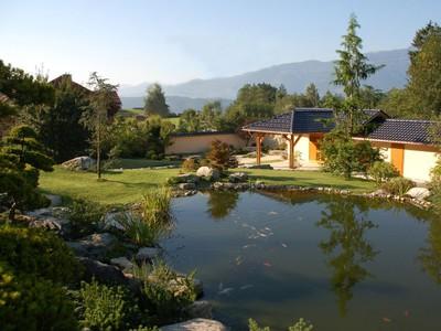 Teichanlage im Bonsaimuseum 1