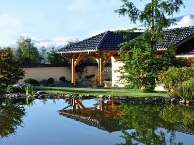 Teichanlage im Bonsaimuseum 2