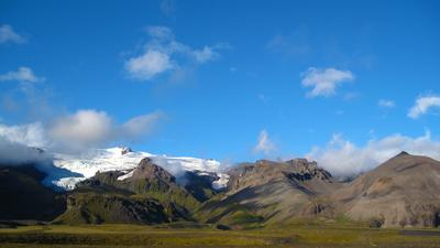 Gebirge Nationalpark Vatnajökull