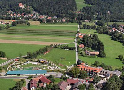Molzbachhof, Luftaufnahme