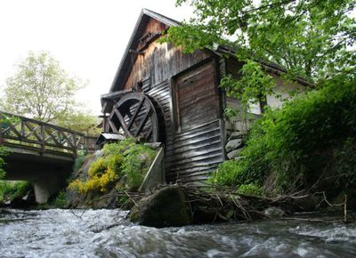 Molzbachhof, die Mühle