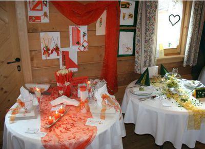 Hochzeit, Huabn, Paradiesgartl