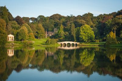 See und Brücke, Stourhead Gardens