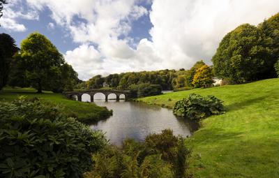 Brücke, Stourhead Gardens