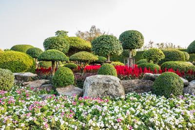 Garten Schloss