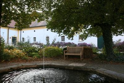 Herrenhof im Herbst Schloss Hof