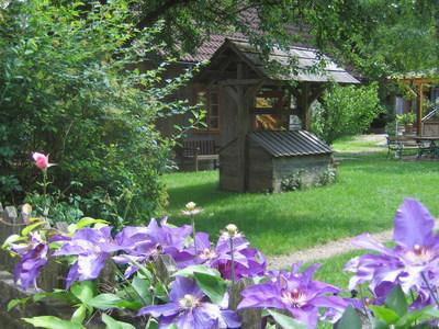 Nostalgiegartenidyll