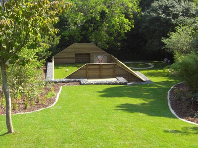 Moderne Gartengestaltung, (c) Baumschule Ecker