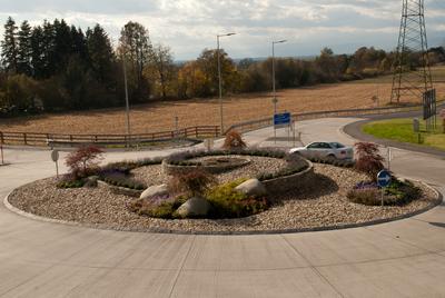 Kreisverkehr Grambach, (c) Zenz Gärten