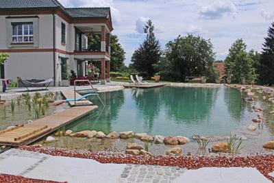 Schwimmteich, (c) Gartenzentrum Edler