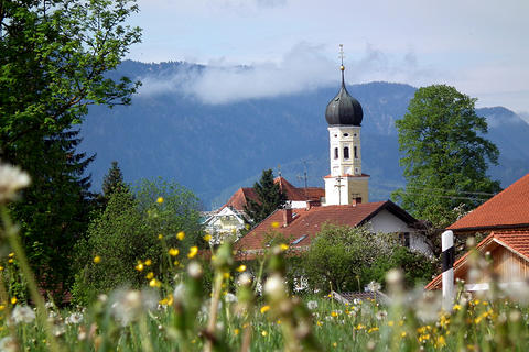 Penzberg Bichl Jakobsweg München Inntal Das