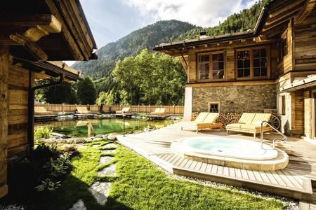 Wellness-Alm des Hotels am Achensee