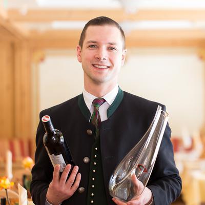 Adi Rieser, Hotelier und Inhaber des Tiroler Wellnesshotels