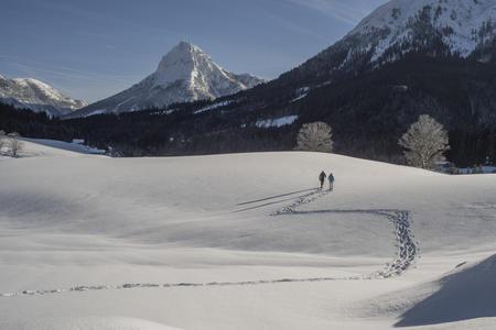 Schneeschuhwanderung Langlaufen