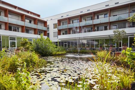 Biotop Garteneinsicht Thermalhotel Fontana