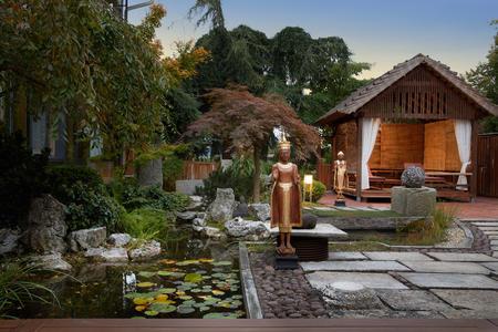 ZEN-Garten im European Ayurveda Resort Mandira Styria