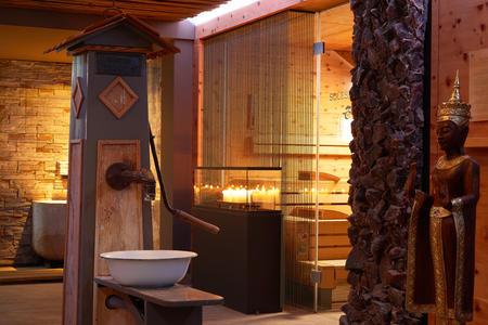 Aufwärmen, Energie tanken, regenieren im Ayurveda Spa