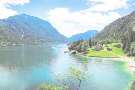 Sommer am Achensee in Tirol
