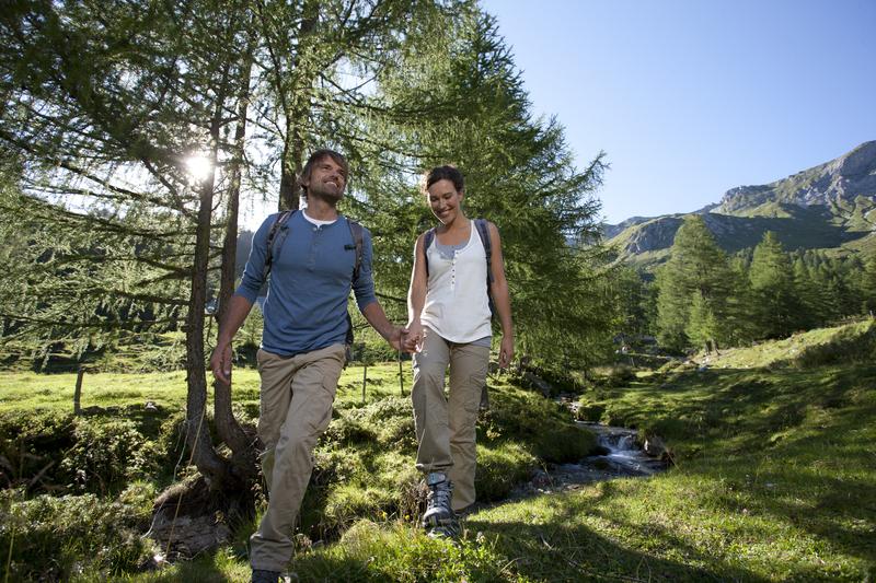 Wandern direkt vom Alpina
