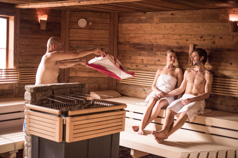 Saunaaufguss Ebners Waldhof