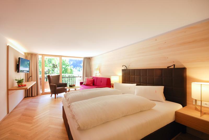 Doppelzimmer im Gesundhotel Bad Reuthe