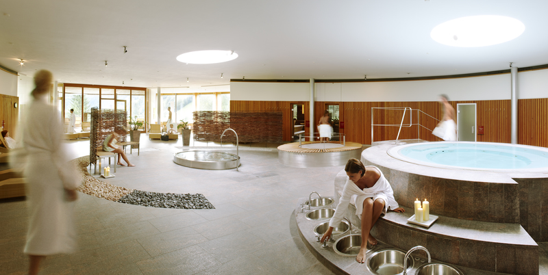 Saunawelt im Gesundhotel Bad Reuthe
