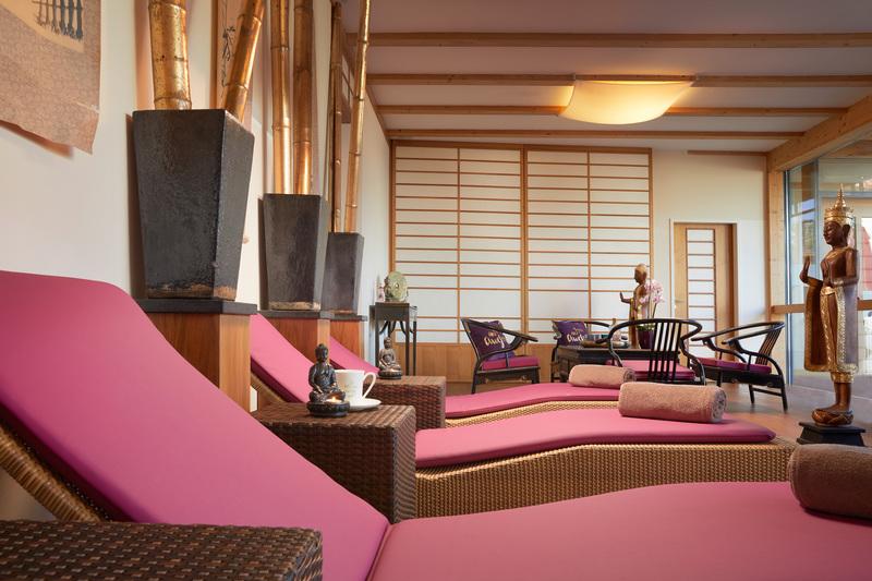 Spa-Bereich im European Ayurveda Resort Mandira