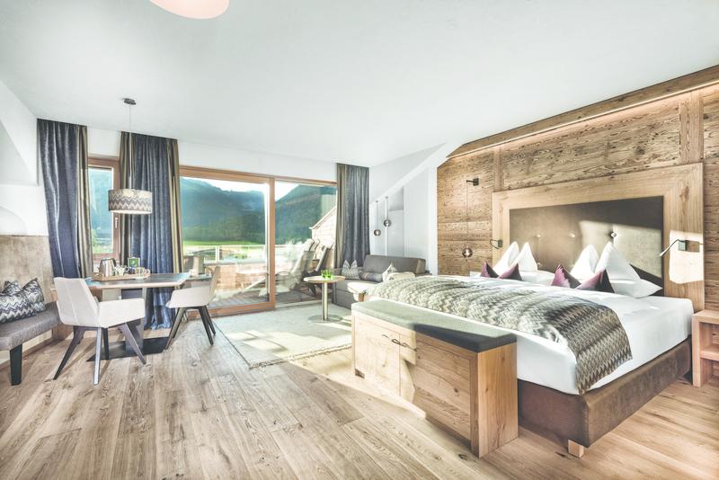 Zimmer im Hotel Rieser