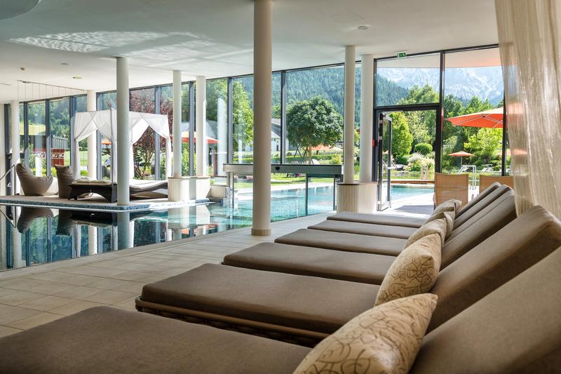 Hallenbad im Hotel Rieser