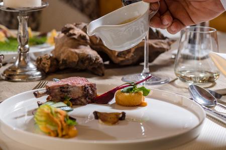 Kulinarik im Hotel Rieser