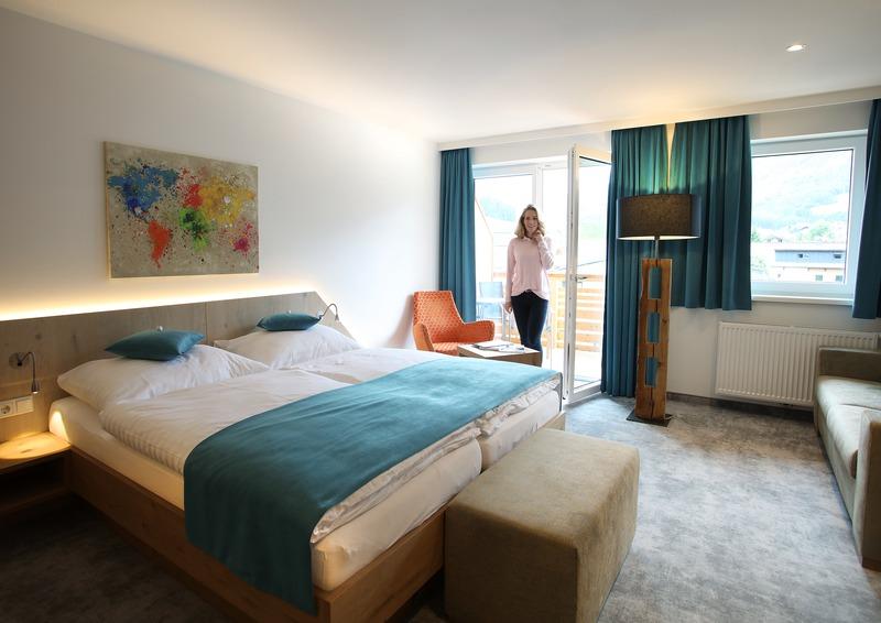 Doppelzimmer im Hotel Gutjahr