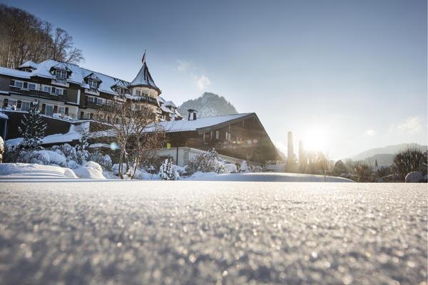 Ebner's Waldhof am See im Winter