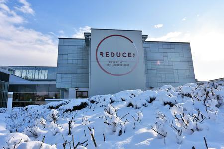 Winter im Reduce Hotel Vital