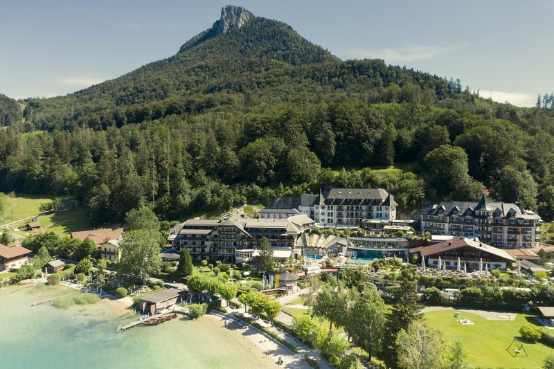 Ebners Waldhof am See im Sommer